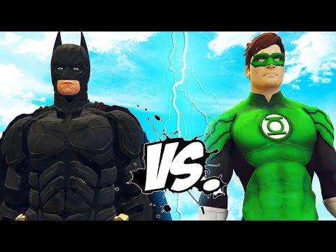 BATMAN VS GREEN LANTERN - EPIC SUPERHEROES BATTLE thumbnail