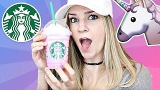 Starbucks Unicorn Frappuccino Taste Test & DIY