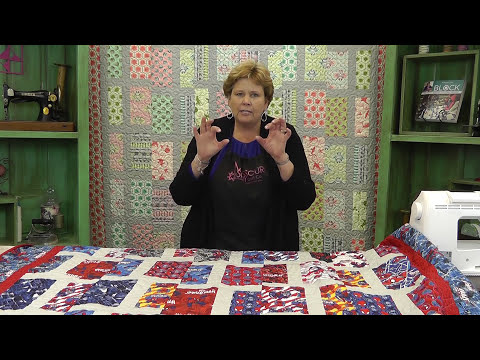 Intersection or T-Block Quilt: Easy Quilting Tutorial with Jenny Doan of Missouri Star Quilt Co