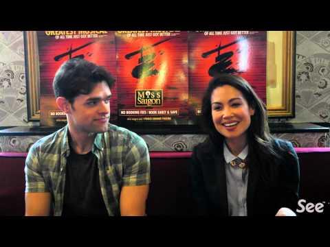 Miss Saigon Interview: Natalie Mendoza & Chris Peluso