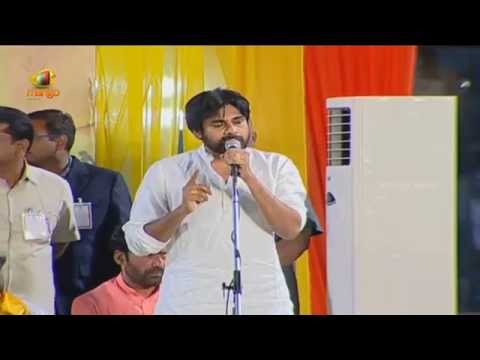 Pawan Kalyan Full Speech In Hyderabad - Narendra Modi, Chandrababu Naidu - Bharat Vijay Rally