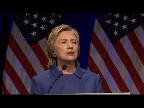 Hillary Clinton Looks Worse for Wear at First Appearance After Election