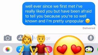Telling My Crush I Like Him Gone Right ️