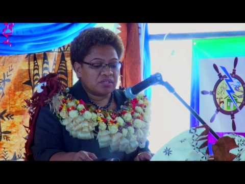 Fijian Minister for Lands officiates the World Meteorological Day Celebrations