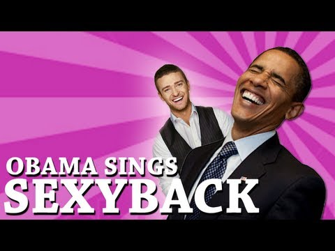 Barack Obama Singing SexyBack by Justin Timberlake (ft. Joe Biden)
