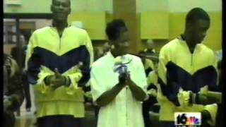 South Bend Clay High School 1995 Mens Basketball Beats La Porte