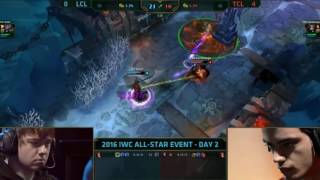 2016 IWC All-Star - Dumbledoge vs Smurf 1v1