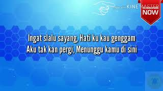 ANJI - Menunggu Kamu lirik | (Official Lyrics) ost Jelita Sejuba