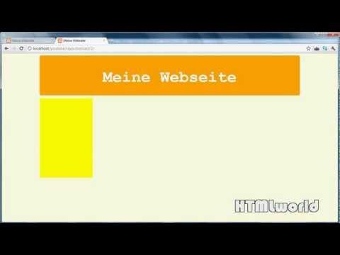 HTML & CSS Tutorial: moderne Webseite erstellen mit CSS   deutsch