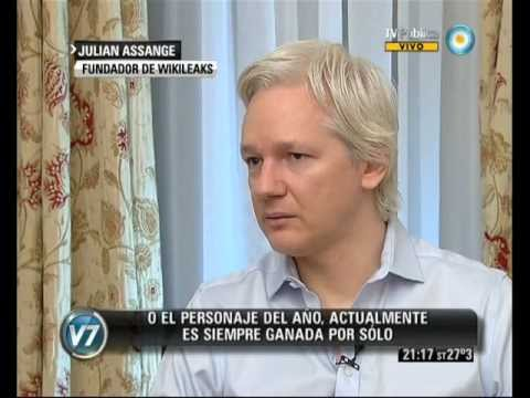 Visin 7: Entrevista exclusiva con Julian Assange. Parte I