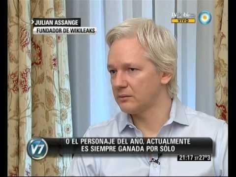 Visión 7: Entrevista exclusiva con Julian Assange. Parte I