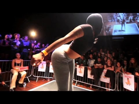 Pop & Jiggle Round - Uk Twerking Championships 2014 video
