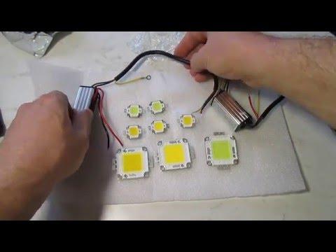 Как самому сделать драйвер для светодиодов от сети 220в