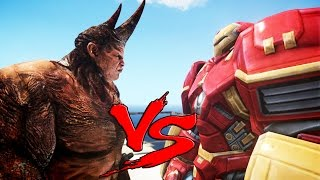 HULKBUSTER VS RHINO - EPIC BATTLE