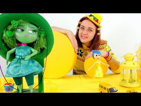 Видео для девочек. Брезгливость в зелёном, а Лена в жёлтом!