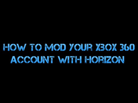 How To MOD Your Xbox 360 Account 2016