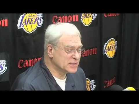 Lakers Coach Phil Jackson and Lamar Odom on Derek Fisher