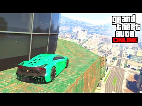 SALTO FINAL ÉPICO!!! - Gameplay GTA 5 Online Funny Moments