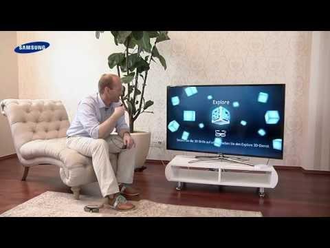 Samsung 3D LED TV - 10 3D Funktion für TV und 3D Bluray
