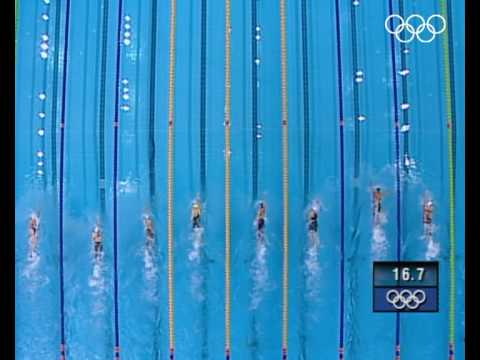 Germany win bronze in the women's 4x200m freestyle relay swimming event at the Sydney 2000 Olympic Games. Subscribe to the Olympic channel: http://bit.ly/1dn...