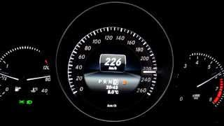 Mercedes-Benz C 180 Acceleration 0 - 227 km/h (near top speed)