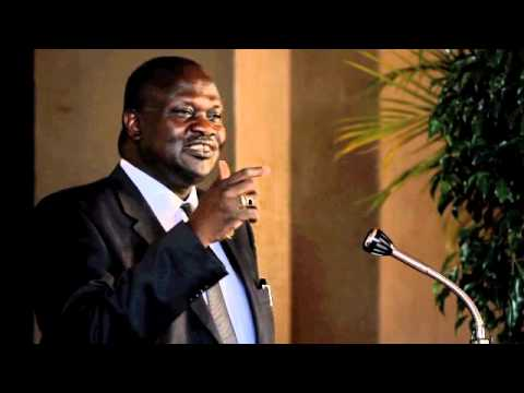 Democracy Dialogue - Riek Machar