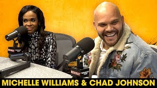 Michelle Williams & Chad Johnson On Saving Themselves For Marriage, Couples Therapy + Their New Show