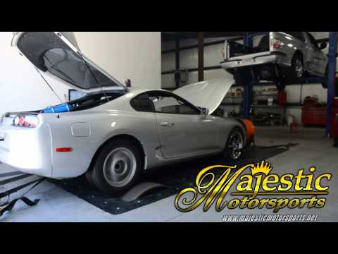 Majestic Motorsports Silver Six Speed Supra - Getting ready for TX2K