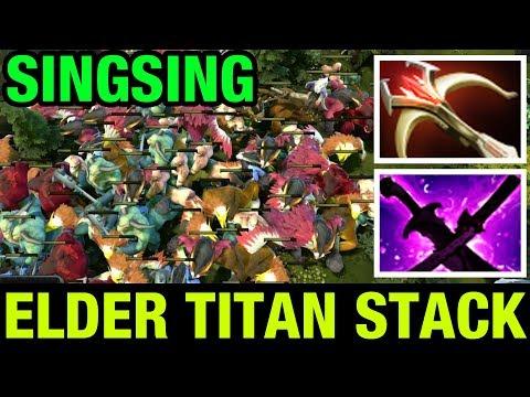 DON`T FARM THE ELDER TITAN STACK ! - SINGSING - Dota 2