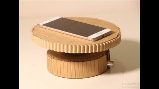 How To Make 360° Degree Rotating machine With Cardboard | DIY Crafts Idea