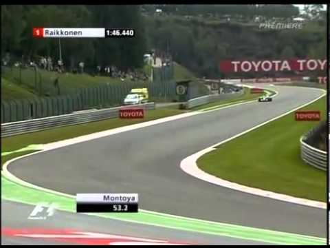 F1 Spa 2005 Qualifying   Juan Pablo Montoya Pole Lap