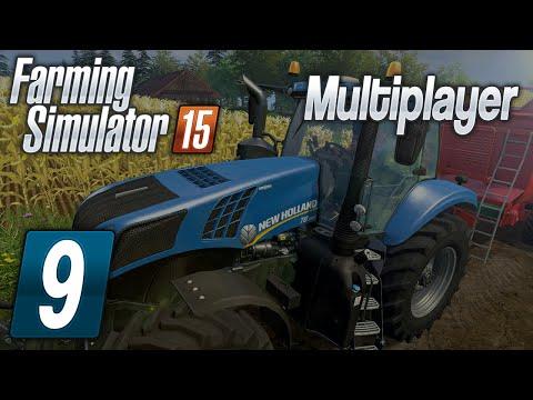 Zagrajmy w Farming Simulator 2015 na multiplayer #9 Nowe pole :D