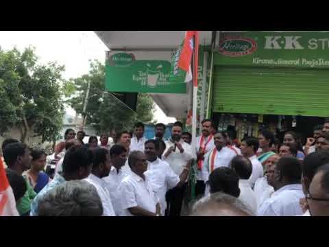 Sama indrapal election speech favour of sri P Karthik Babu MLA of Rajendranagar assembly