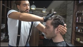 ASMR Turkish Barber Face,Head and Hand Massage 270