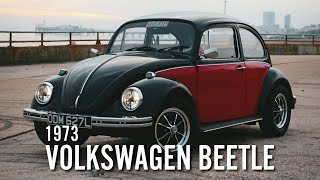 "My VW Beetle restoration.. The ""Ferrari Red"" & Black Beetle"