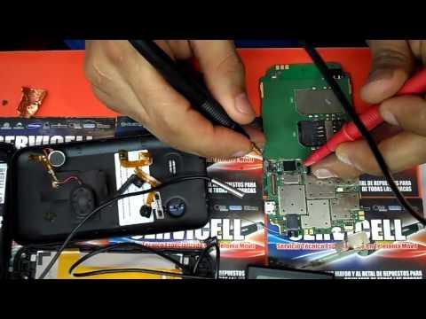 reparacion avvio 760 corto entre pines de bateria . y se apaga pantalla al hacer llamadas