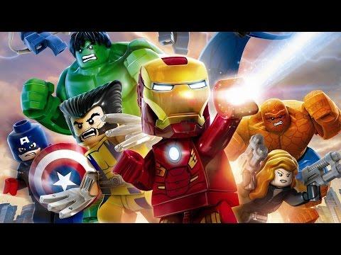 Lego Marvel Super Heroes Game Movie (All Cutscenes) 1080p HD