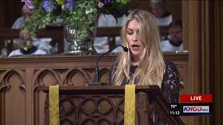 WATCH: Full funeral service for Barbara Bush at St. Martin's Church