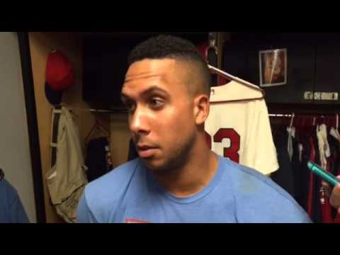 Michael Brantley praises new RF Lonnie Chisenhall