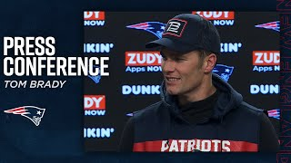 "Tom Brady on playoffs: ""You can't take anything for granted"" 