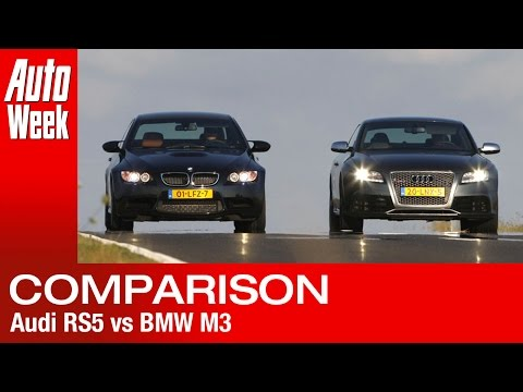 Audi RS5 VS BMW M3 roadtest (English subtitled) Video