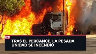 Tráiler embiste a varios autos en Cuautla, Morelos, y deja varios muertos