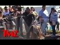 Tyrese Breaks Down In Tears At Paul Walker Crash Site | TMZ