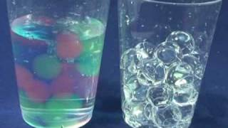Water Gel Expanding Spheres