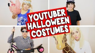 YOUTUBER HALLOWEEN COSTUMES // Grace Helbig