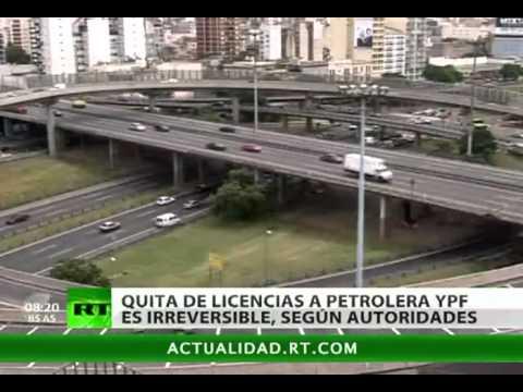 Argentina: el retiro de licencia a petrolera YPF es