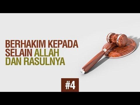 Bab 39 Berhakim kepada selain Allah  - Ustadz Ahmad Zainuddin Al Banjary