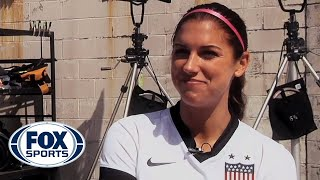 Alex Morgan Behind the Scenes with FOX Sports 1
