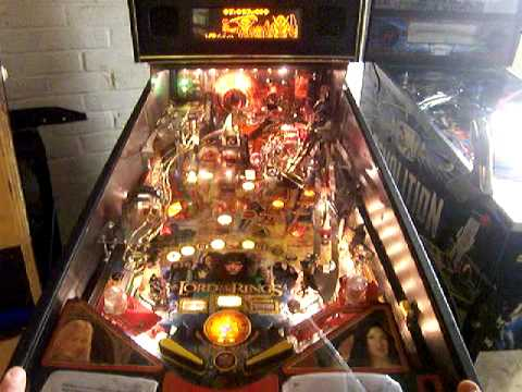 Pictures Of Lord Of The Rings Pinball Machine