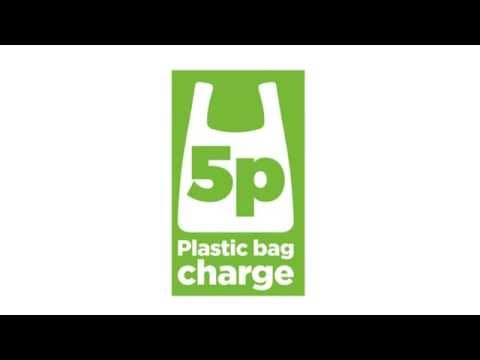 Single-use plastic carrier bag charge.